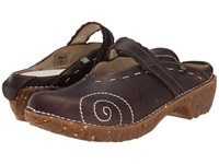 El Naturalista Yggdrasil N096 Brown 2 Women's Clog Shoes