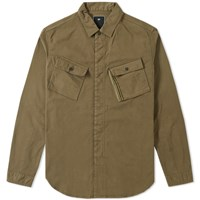 Mhi Maharishi Travel Shirt Jacket Green