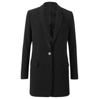 Helmut Lang Women's Pocket Detail Blazer Black