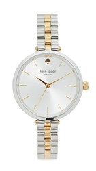 Kate Spade Holland Watch Gold Silver