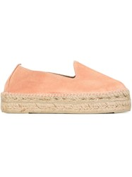 Manebi Manebi Platform Espadrilles Pink And Purple