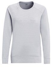 Casall Long Sleeved Top Grey Melange Mottled Grey