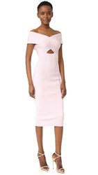 Cushnie Et Ochs Boat Neck Pencil Dress Light Pink