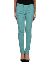 Class Roberto Cavalli Trousers Casual Trousers Women Green