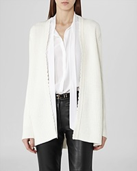 Reiss Cardigan Sasha Scallop Edge