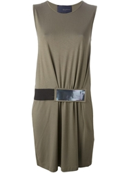 Kai Aakmann Front Belt Dress