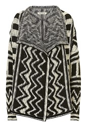Betty Barclay Monochrome Knitted Cardigan Black
