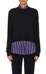 Barneys New York Women's Cashmere Sweater Black
