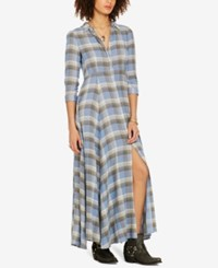 Denim And Supply Ralph Lauren Maxi Dress Halstead Plaid