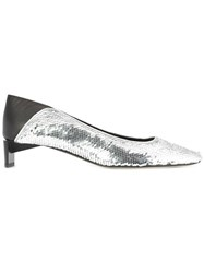 Loewe Sequinned Pumps Black