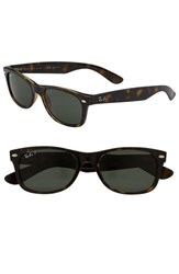 Women's Ray Ban 'New Small Wayfarer' 52Mm Polarized Sunglasses Tortoise