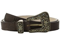 Leather Rock 1688 Bomber Chocolate Women's Belts Brown