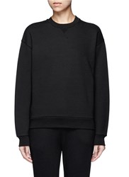 Alexander Wang French Terry Sweatshirt Black
