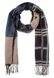 S.Oliver Scarf Blue Check