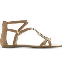 Steve Madden Junyaa Gladiator Sandals Tan Synthetic