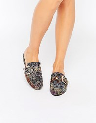 Asos Mace Loafers Tapestry Multi