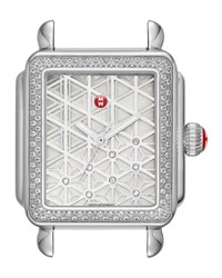 Michele 16Mm Deco Diamond Layered Diamond Watch Head