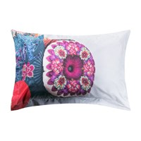 Desigual 'Excuse The Mess I Actually Sleep Here' Pillowcase 50X80cm
