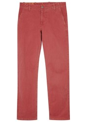 Dockers Alpha Red Stretch Cotton Chinos