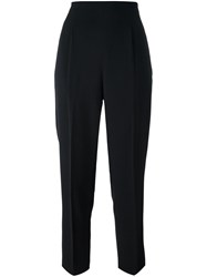 Romeo Gigli Vintage Tapered Trousers Black
