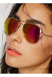 Free People Endless Summer Aviator Sunnies