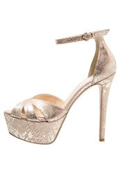 Mai Piu Senza High Heeled Sandals Cipra Gold
