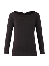 James Perse Raglan Sleeve Cotton Sweatshirt