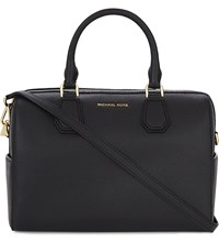 Michael Michael Kors Mercer Medium Leather Duffle Bag Black