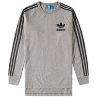 Adidas Long Sleeve Adc Fashion Tee Grey