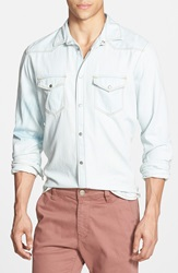Mavi Jeans 'Andy' Long Sleeve Shirt Light Pastel Blue