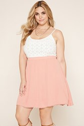 Forever 21 Plus Size Crochet Cami Dress