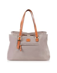 Bric's X Bag Large Nylon Tote Bag Grey