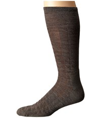 Smartwool Triangulate Crew Taupe Men's Crew Cut Socks Shoes