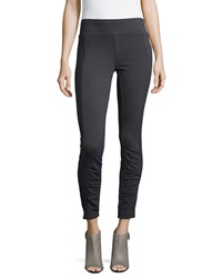 Xcvi Benatar Ruched Ankle Ponte Leggings