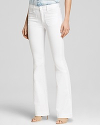 Hudson Jeans Bloomingdale's Exclusive Taylor High Waist Flare In White