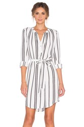 Sanctuary City Shirt Dress White