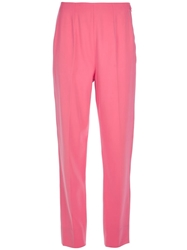 Emilio Pucci Vintage Loose Fit Trouser Pink And Purple