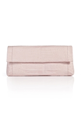 Nancy Gonzalez Fold Over Crocodile Clutch