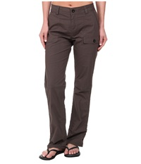 Woolrich Laurel Run Convertible Pant Slate Women's Casual Pants Metallic