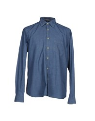 Seventy By Sergio Tegon Shirts Shirts Men Blue