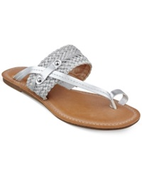 Tommy Hilfiger Women's Lianna Toe Thong Sandals Women's Shoes