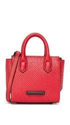 Kendall Kylie Brook Nano Satchel Ruby Red