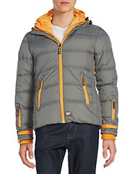 Superdry Polar Elements Jacket Shot Grey