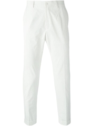 Dolce And Gabbana Classic Chinos White