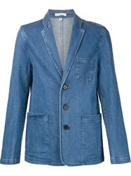 321 'Jog' Denim Blazer Blue