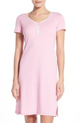 Women's Lauren Ralph Lauren 'Chateau Knits' Cotton Nightgown