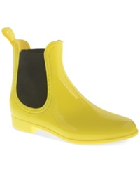 Chinese Laundry Dirty Laundry Chariot Chelsea Rain Booties Women's Shoes Yellow