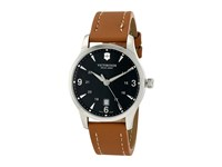 Victorinox Alliance Large 241475 Brown Leather Black Watches