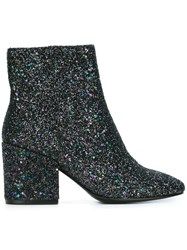Ash 'Erica Galaxy' Booties Black