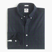 Slim Thomas Mason For J.Crew Flannel Shirt In Tartan Old Forest